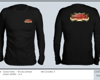 paradise_refound_T-SHIRT BLACK LONG SLEEVE ROUND NECK