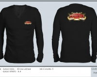 paradise_refound_T-SHIRT BLACK LONG SLEEVE V-NECK