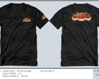 paradise_refound_T-SHIRT BLACK SHORT SLEEVE V-NECK